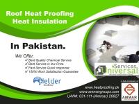 Best Roof Heat Proofing, Roof Heat Insulation in Pakistan