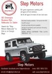 €50 NUOLAIDA NAUJIEMS KLIENTAMS! Akcija pilnam servisui. Step Motors