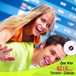 Book One way Toronto - Cancun from CAD $215