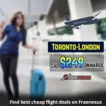 Book One Way flight Toronto-London from CAD $249