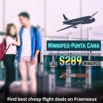 Book One Way flight Winnipeg-Punta Cana from CAD $289