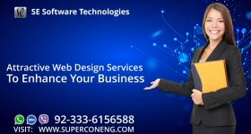 Attractive Web Design Services to Enhance Your Business