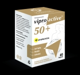 VIPROACTIVE 50+  unique and positive anti-aging effect with cell protection, reinforcing the immune system