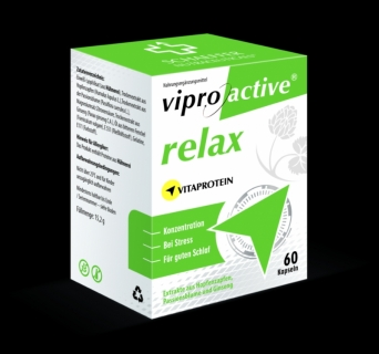 VIPROACTIVE RELAX contributes to normal sleep patterns.