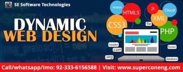 Dynamic Website With Elegant Design