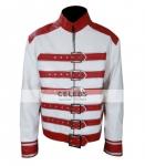 Freddie Mercury Red And White Jacket