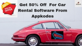 Get 50% Off  For Car Rental Software From Appkodes