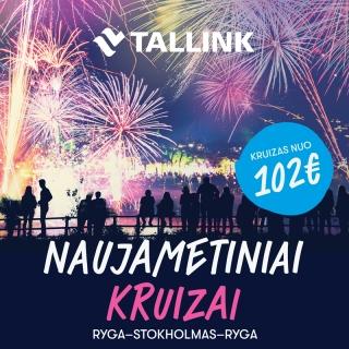 NAUJAMETINIS KRUIZAS RYGA-STOKHOLMAS-RYGA