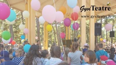 GyviTeatre.lt - muzikinis teatras, interaktyvus miuziklas, originali šventė vaikams!