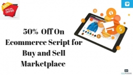 50%  Off On Ecommerce Script for Buy and Sell Marketplace
