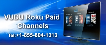 How to add VUDU paid channel on your Roku?