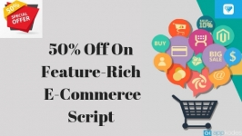 50% Off On Social feature integrated marketplace script to build online shopping platform