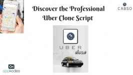 Discover the Professional Uber Clone Script With Appkodes Cabso
