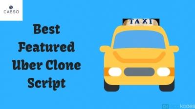 Best Featured Uber Clone Script