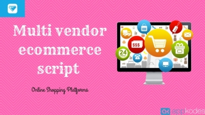 Multi vendor ecommerce script For Online Shopping Platforms