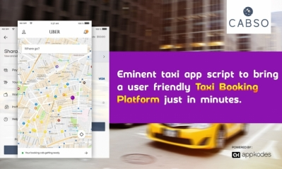 Eminent taxi app script to bring a user-friendly taxi booking platform just in minutes