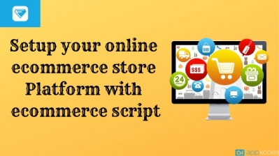 Setup your online ecommerce store Platform with ecommerce script