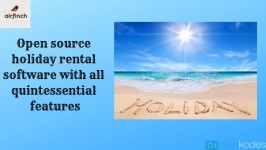 Open source holiday rental software with all quintessential features
