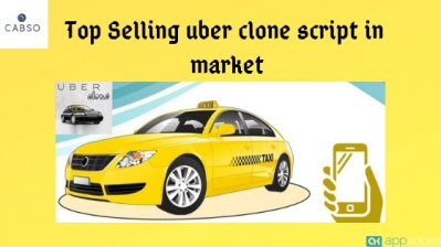 Top Selling uber clone script in market