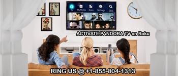 Stream Pandora TV on Roku