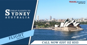 Call at 0207-112-8313 for cheap flights to sydney from london