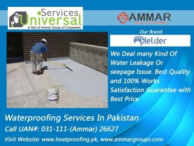 HomeUniversal Waterproofing Services In Khi Pk