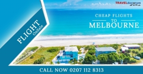 Cheap air tickets to Melbourne from UK, Call 0207-112-8313