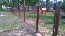 Segmentinės tvoros montavimas
