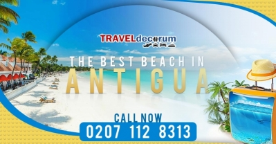 Book cheap flights UK to Antigua at TravelDecorum
