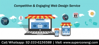 Competitive & Engaging Web Design Service