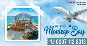 Direct flights to Montego Bay! Book from TravelDecorum