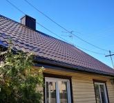 Šlaitinių stogų dengimas, įvairūs skardinimo darbai, gegnių statymas