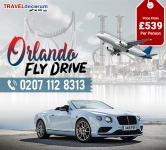 Exciting Deals on Fly drive Glasgow to Orlando like Never Before