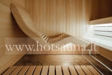 Naujas modernus pirties saunos dizainas
