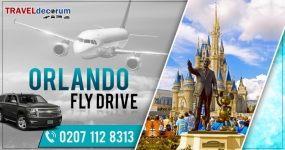 Fly drive Glasgow to Orlando, visit Traveldecorum