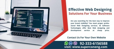 Effective Web Designing Solutions For Your Business