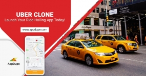 Uber Clone Solution - Build a Real-time taxi app!