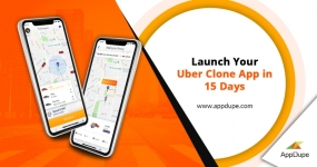 Create a fully functional taxi app with a Uber clone solution