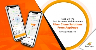 Build an Uber like app easily with a ready-made app solution