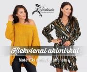 Moteriški drabužiai internetu - Dabinta.lt