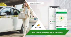 Startup an Uber clone app and upgrade your taxi business!