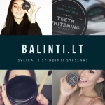 Balinanti dantų pudra
