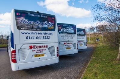 Glasgow Coach Hire - Hire Society
