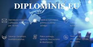 DIPLOMINIS.EU - EKONOMIKOS IR FINASINĖS ANALIZĖS – YRA LAISVŲ VIETŲ
