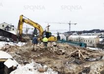 Pastatų griovimas Vilniuje