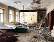 Pastatų griovimas Vilniuje, demontavimo darbai
