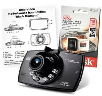 Black Diamond Advanced Portable Car Camcorder