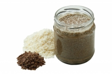 COCONUT-LINSEED BUTTER, 350G