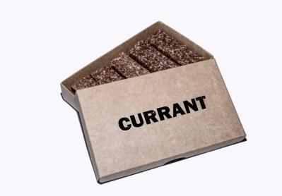 CURRANT BARS 5×50G