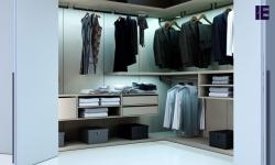 Bifold walkin wardrobe in stone grey finish with long handles 2 (1).jpg